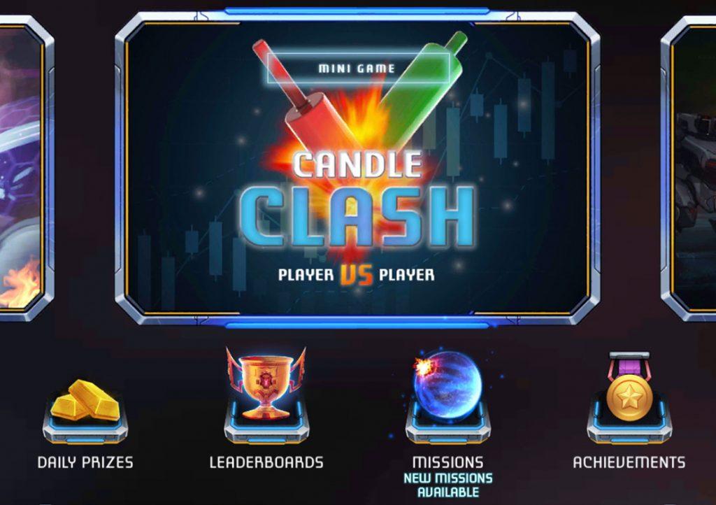 Candle Clash Navigation in Botwars